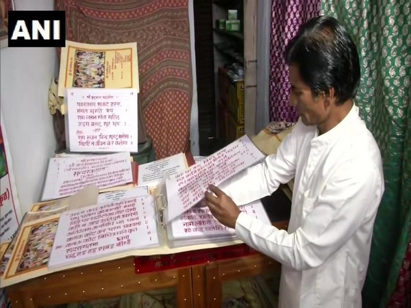 Jaipur based Sharad Mathur has written a 3000-page-long Ramcharitmanas spread in 21 volumes