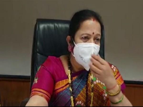 Mumbai Mayor Kishori Pednekar talking to ANI on Friday. (Photo/ANI)