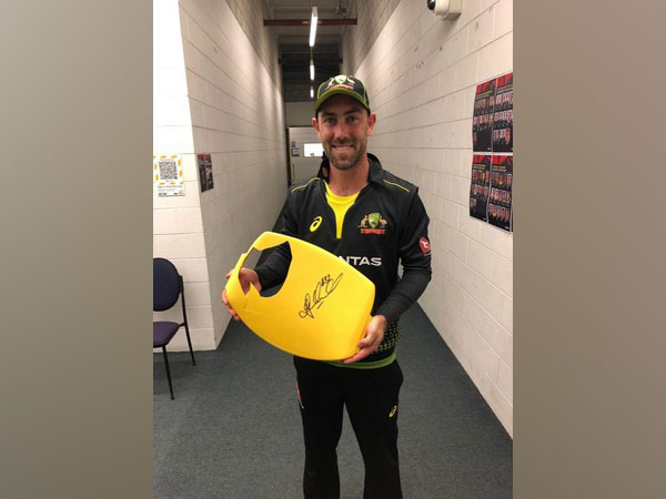 Australia all-rounder Glenn Maxwell (Photo/ Cricket Australia Twitter)