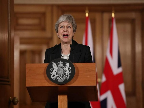 UK PM Theresa May on March 20 (local time)