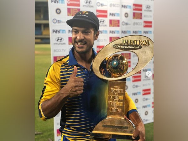 Maharashtra batsman Mayank Agarwal (Photo/Mayank Agarwal Instagram)