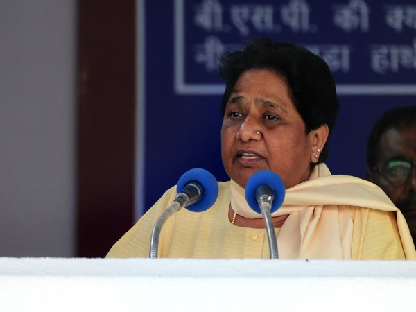 Mayawati [Photo/ANI]