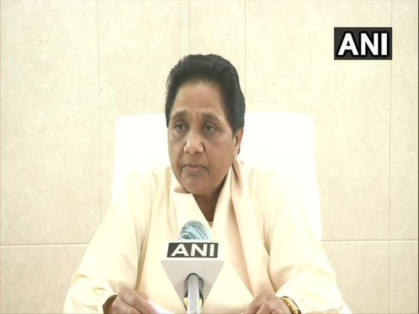 BSP chief Mayawati speaking to ANI on Monday.  [Photo/ANI]