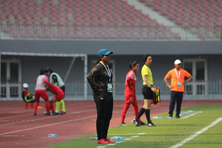 Head coach Maymol Rocky (Photo/AIFF)