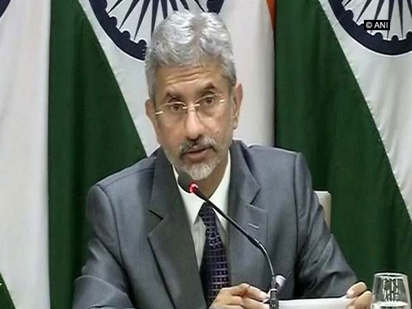 External Affairs Minister (EAM) S Jaishankar (File Photo/ANI)