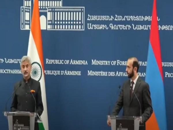 External Affairs Minister (EAM) S Jaishankar adressinga presser in Armenia on Wedesay