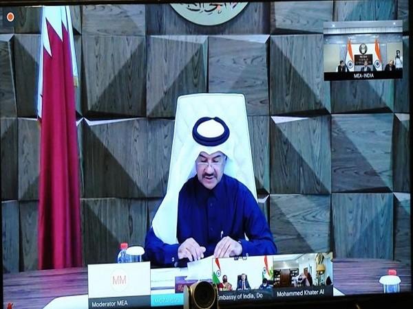 India, Qatar hold fourth foreign office consultations (Photo Credit: Twitter/Anurag Srivastava)
