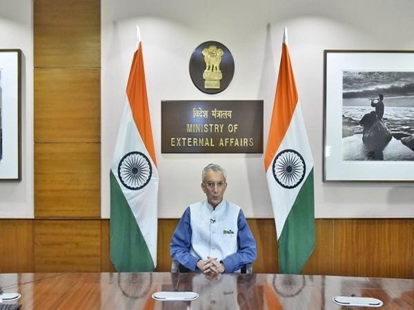 Ministry of External Affairs (MEA) Secretary (Economic Relations) Rahul Chhabra (Photo Credit: Twitter/Anurag Srivastava)