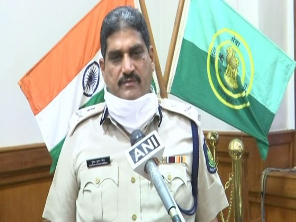 Mukesh Kumar Meena, Director-General of Police ( DGP), Goa speaking to ANI on Wednesday