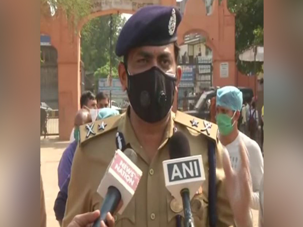 IG, Meerut Range, Praveen Kumar speaking to media persons in Ghaziabad on Monday.  Photo/ANI
