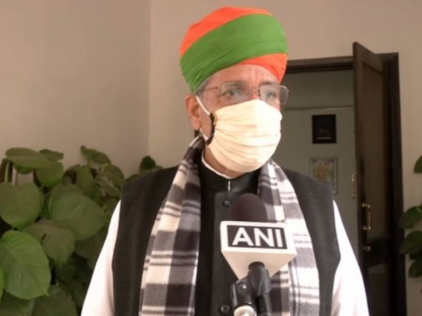 Minister of State (MoS) for Parliamentary Affairs Arjun Ram Meghwal (Photo/ANI)