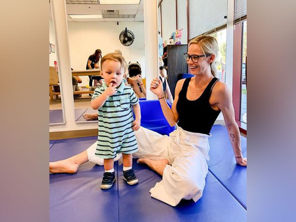 Meghan King Edmonds along with her son Hart (Image courtesy: Instagram)