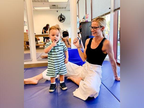 Meghan King Edmonds along with her son Hart (Image courtesy: Instagram)