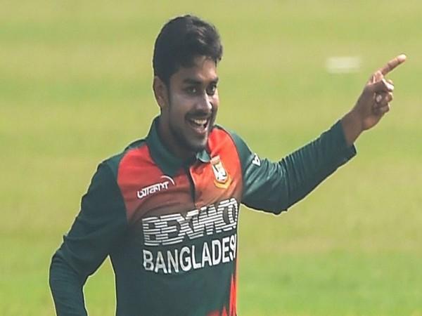 Bangladesh bowler Mehidy Hasan Miraz (Image: ICC)