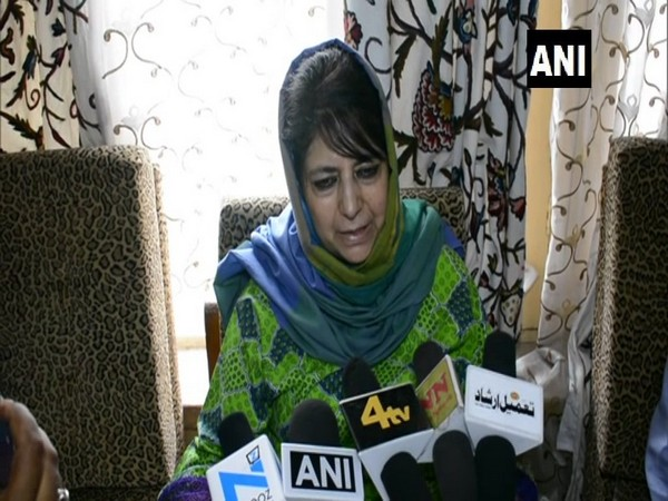 Peoples Democratic Party (PDP) chief Mehbooba Mufti (File photo)