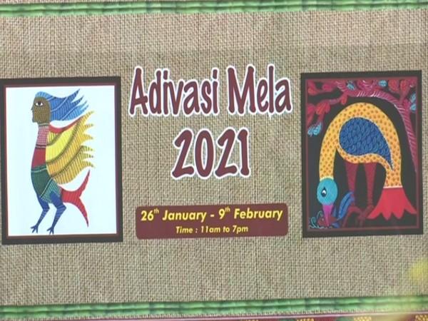 Annual Adivasi Mela in Bhubaneswar commences today (Photo/ ANI)