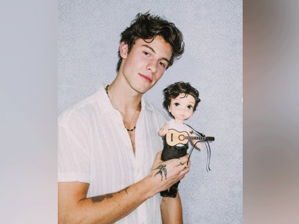 Shawn Mendes Shows Off Mini Doll Version Of Him Calls It Super