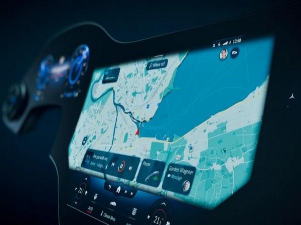 The MBUX Hyperscreen by Mercedes Benz