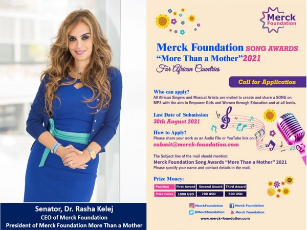 Merck Foundation Africa Song Awards 'More Than a Mother' 2021
