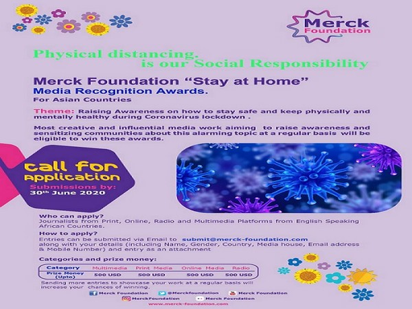 'Stay at Home' Media Recognition Awards from Asian Countries