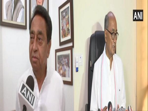 MP: Kamal Nath, Digvijaya Singh attend Sant Samagam in Bhopal - ANI News