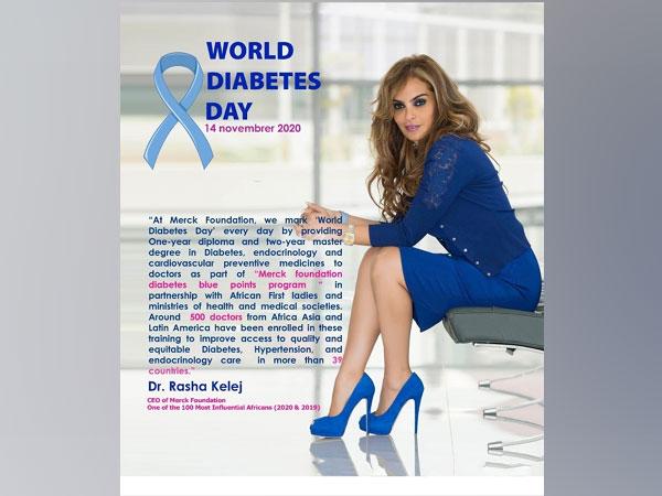 Merck Foundation marks World Diabetes Day.