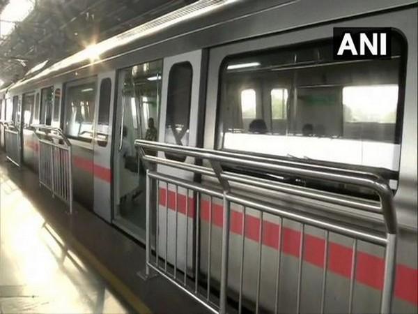 Delhi Metro (Photo/ANI)