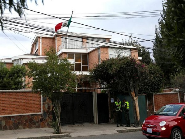 A view of Mexican embassy in La Paz, Bolivia