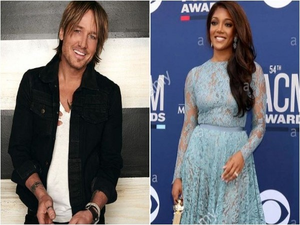 Keith Urban and Mickey Guyton (Image source: Instagram)