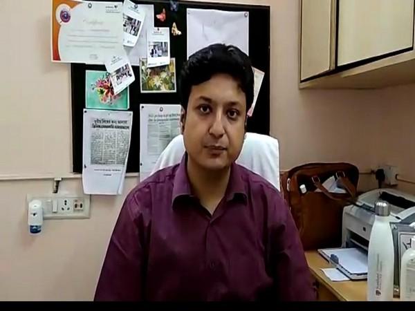 Dr Subhrojyoti Bhowmick [Photo/ANI]
