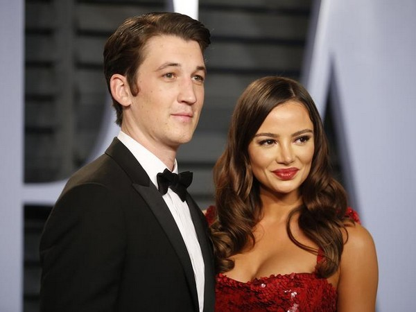 Actor Miles Teller and Keleigh Sperry