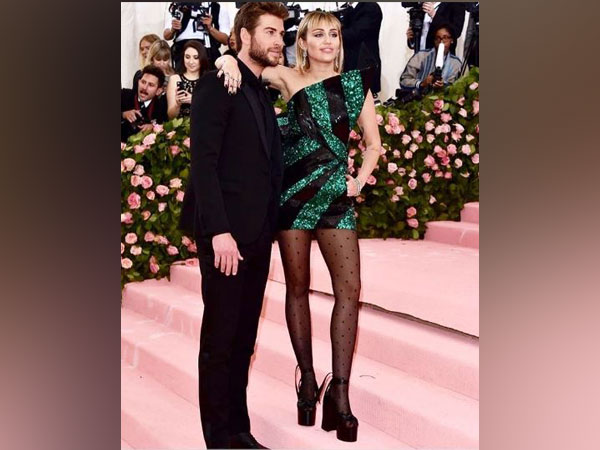 Liam Hemsworth and Miley Cyrus (Image courtesy: Instagram)