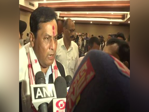 Union Minister Sarbananda Sonowal. (Photo/ANI)