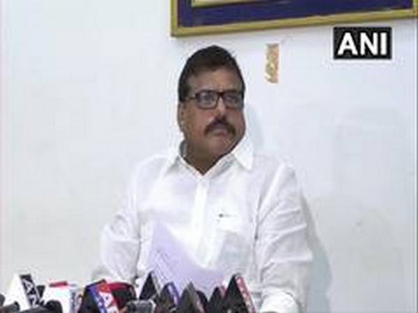 Andhra Pradesh Urban Development Minister Botsa Satyanarayana (Photo: ANI)