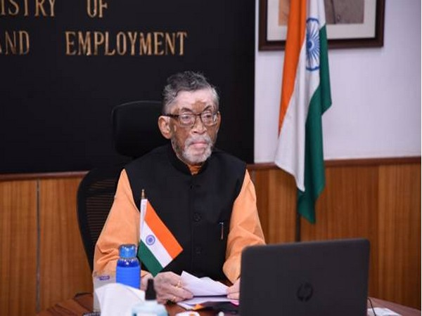 Union Minister for Labour and Employment Santosh Gangwar