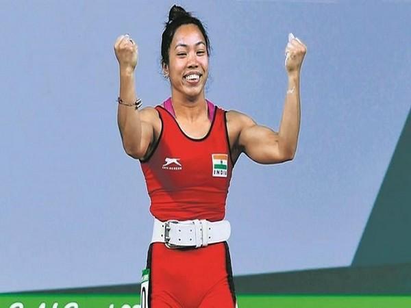 Indian weightlifter Mirabai Chanu (Image: SAI Media)