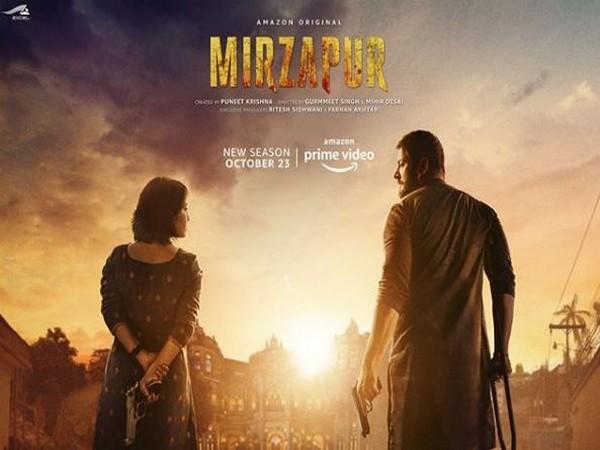 The poster of 'Mirzapur Season 2' (Image courtesy: Instagram)