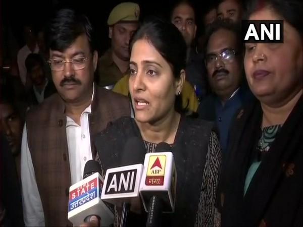 Apna Dal lawmaker from Mirzapur Anupriya Patel (File photo)