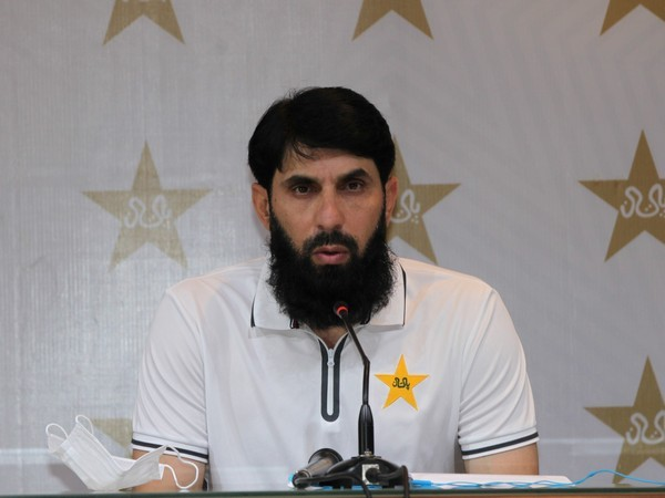 Pakistan head coach Misbah-ul-Haq