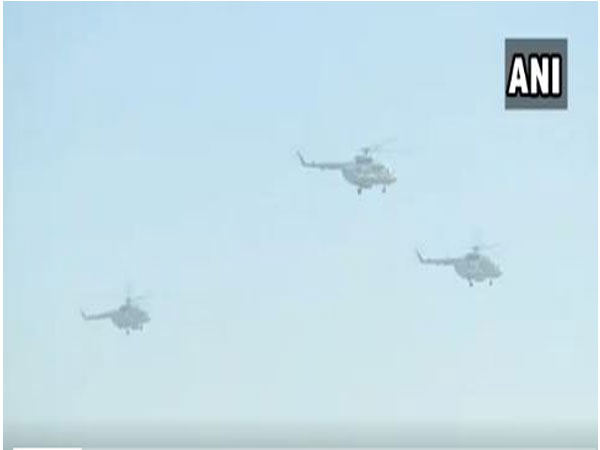 IAF Chief BS Dhanoa pays tribute to Kargil bravehearts by flying a 'Missing Man' formation at Sarsawa base in Uttar Pradesh.