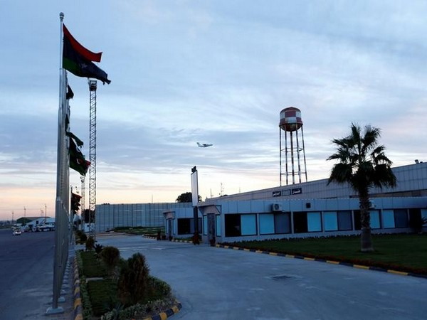 Mitiga airport in Libya's capital city of Tripoli