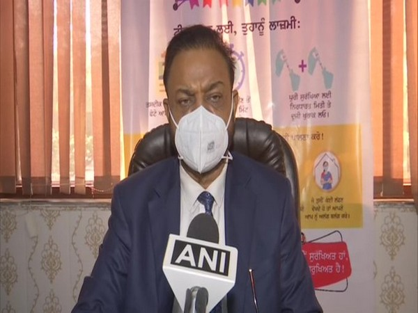 Civil surgeon of Amritsar, Charanjit Singh (Photo/ANI)