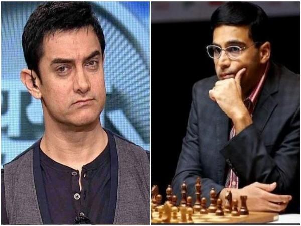 Aamir Khan, Vishwanathan Anand (Image Source: Instagram)