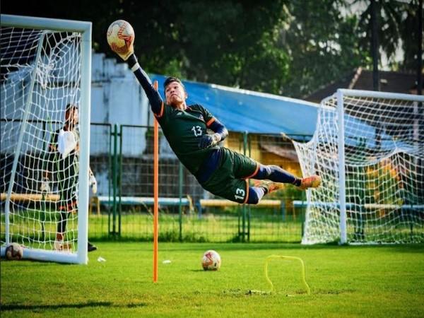Mumbai City FC goalkeeper Mohammad Nawaz (Photo: Mumbai City FC website)