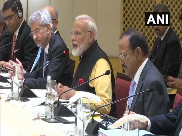 Prime Minister Narendra Modi during the delegation-level talks in Tamil Nadu on Saturday (Photo/ANI)