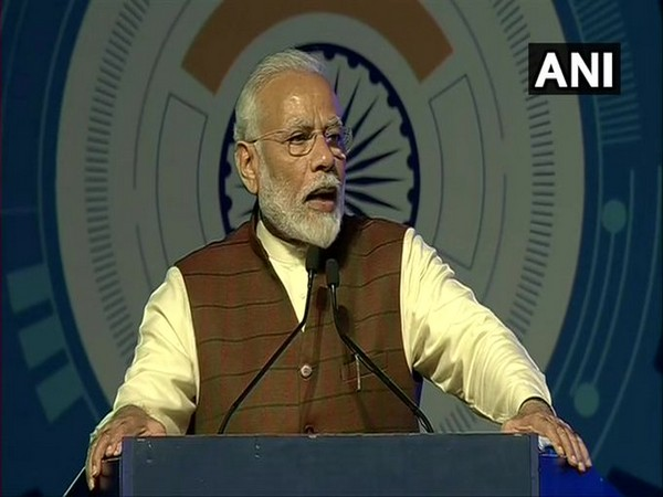 Prime Minister Narendra Modi speaking at Defence Expo in Lucknow on Wednesday.