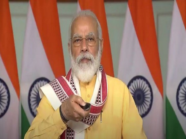 Prime Minister Narendra Modi laid the foundation stone for the Manipur Water Supply Project on Thursday.