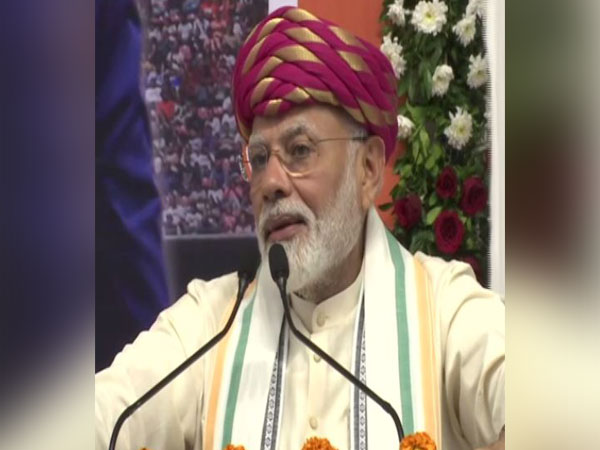 PM Modi speaking in Ahmedabad on Wednesday