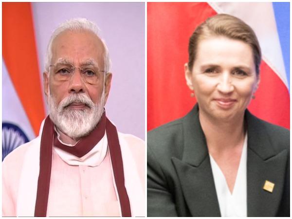 Prime Minister Narendra Modi and Danish PM Mette Frederiksen