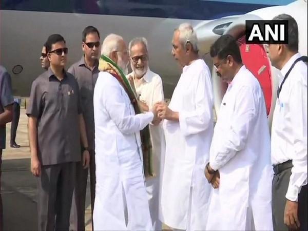 Prime Minister Narendra Modi and Odisha chief minister Naveen Patnaik (File Photo/ANI)